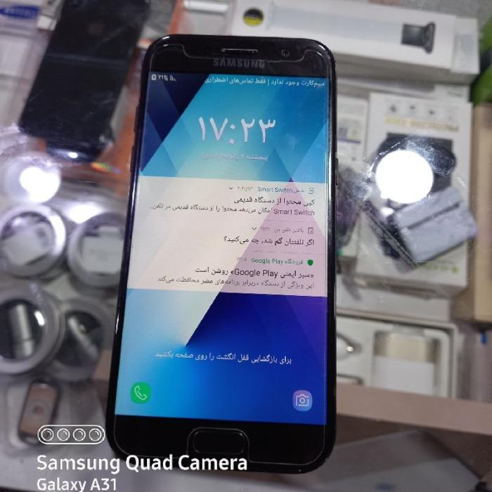 گوشی کارکرده سامسونگ a5 2017