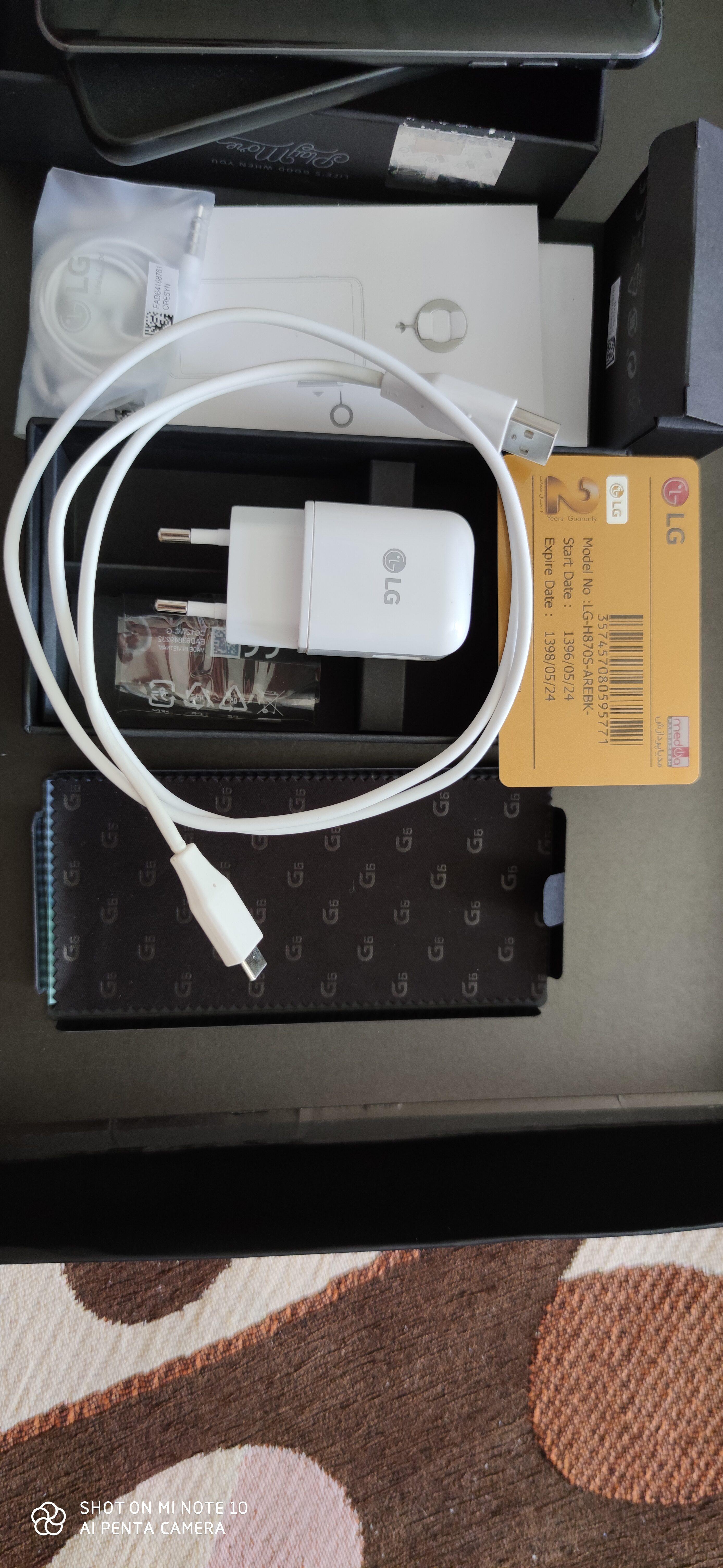 فروش گوشی ال جی G6
