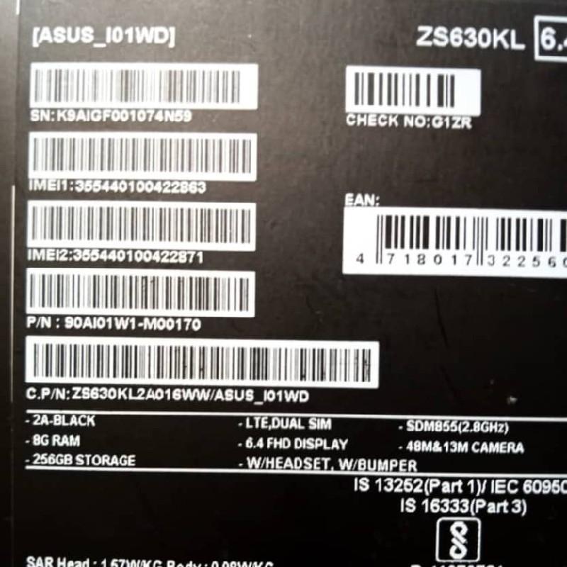 گوشی ایسوس Zenfone 6 کارکرده