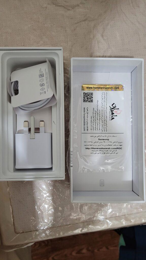 سامسونگ Galaxy S20 FE 5G با حافظهٔ ۱۲۸ گیگابایت کارکرده