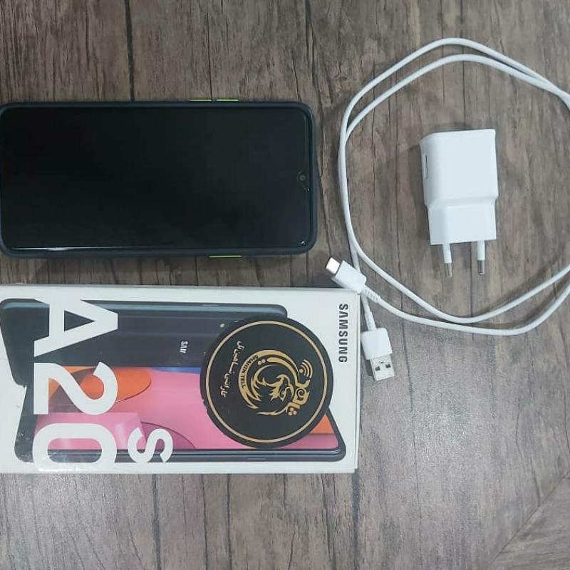 گوشی A20s درحد نو کارکرده