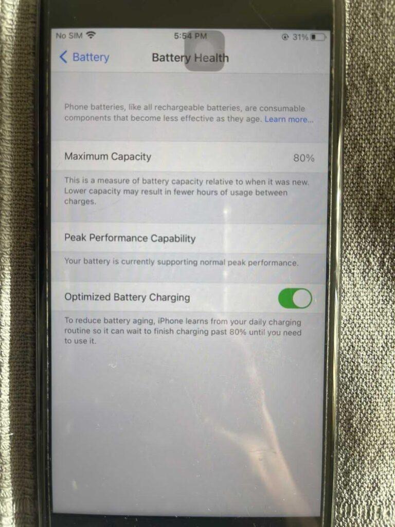 گوشی Apple 7 plus کارکرده