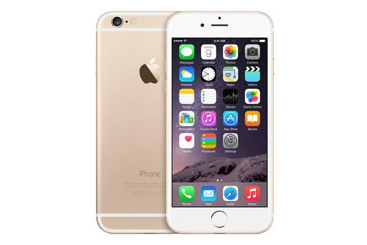 یک دستگاه گوشی 6 اپل کارکرده