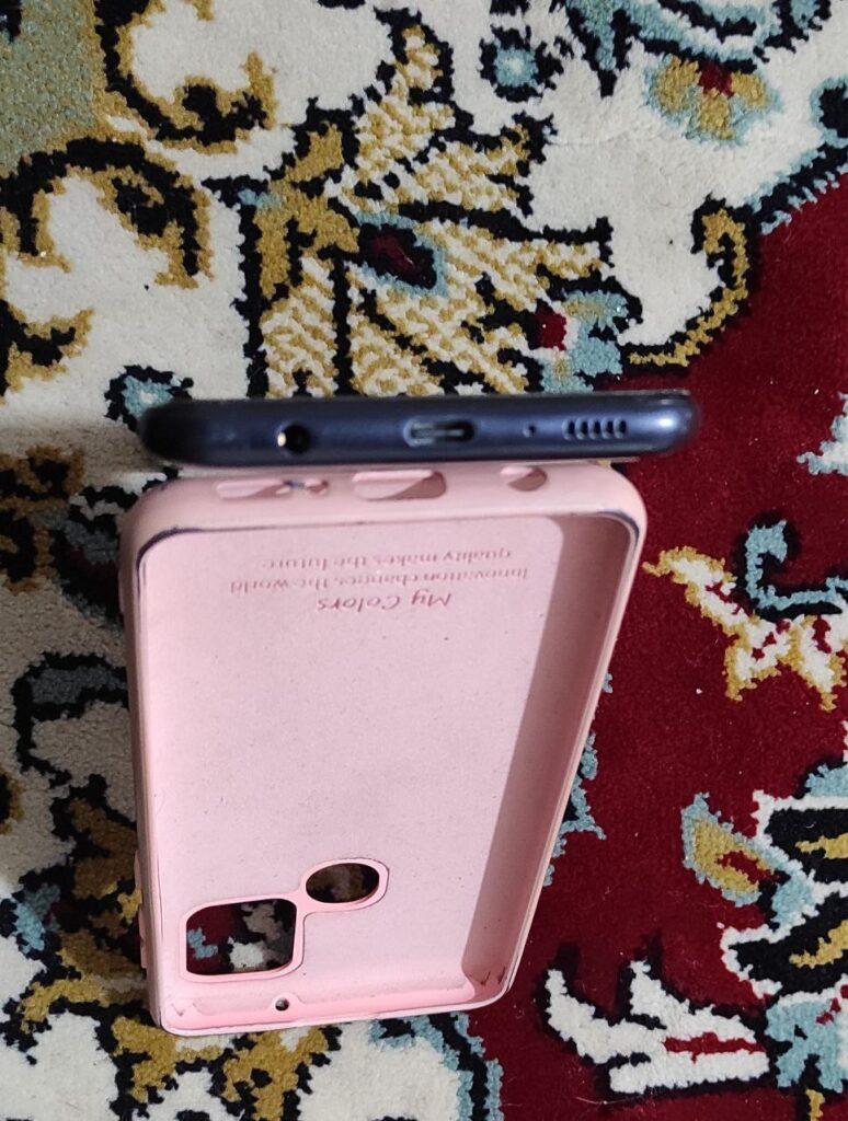 گوشی a21s مشکی کارکرده