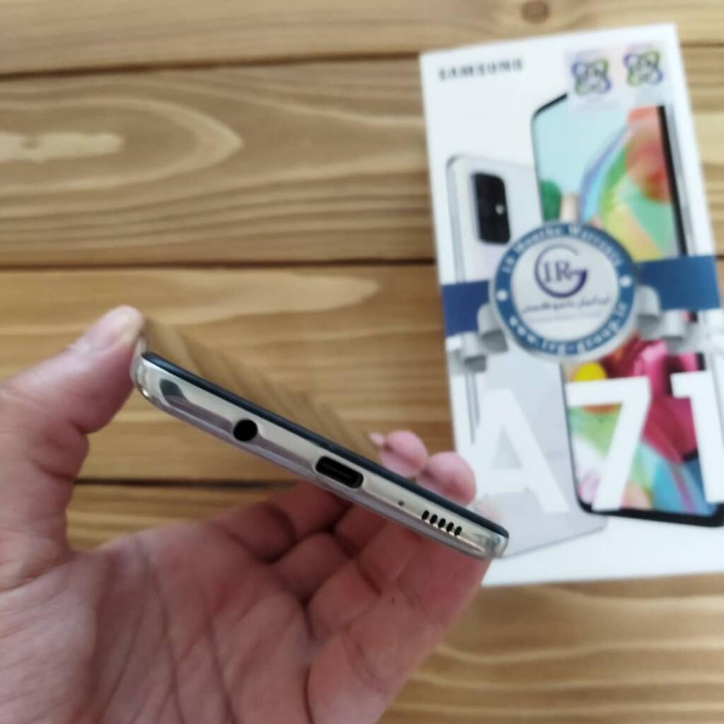 گوشی سامسونگ مدل Galaxy A71 کارکرده